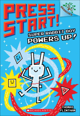 Super Rabbit Boy Powers Up! (Press Start! #2) Cover Image