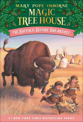 Buffalo Before Breakfast (Magic Tree House #18) Cover Image