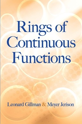 Rings of Continuous Functions (Dover Books on Mathematics) Cover Image