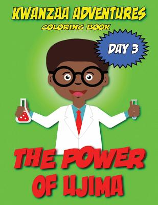 Kwanzaa Adventures Coloring Book: The Power of Ujima Cover Image