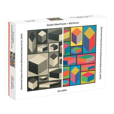 MoMA Sol Lewitt 500 Piece 2-Sided Puzzle Cover Image