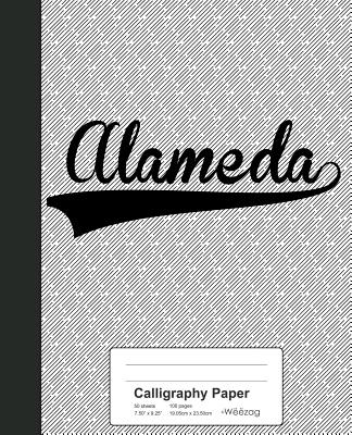 Calligraphy Paper: ALAMEDA Notebook Cover Image