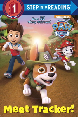Meet Tracker! (PAW Patrol) (Step into Reading) Cover Image