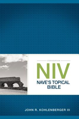 Zondervan NIV Nave's Topical Bible Cover Image