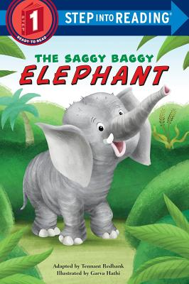 The Saggy Baggy Elephant (Step into Reading) Cover Image