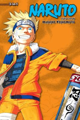 Naruto (3-in-1 Edition), Vol. 4 cover image