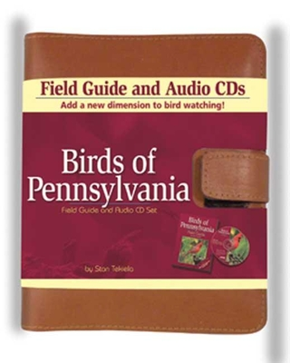Birds of Pennsylvania Field Guide and Audio Set (Bird Identification Guides) Cover Image