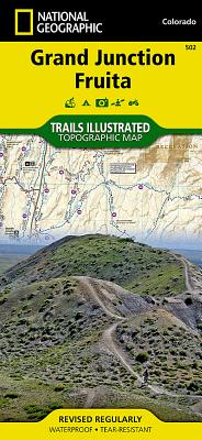 Grand Junction, Fruita (National Geographic Maps: Trails Illustrated #502) Cover Image