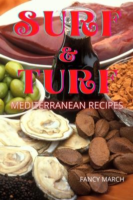 Surf & Turf Mediterranean Recipes Cover Image