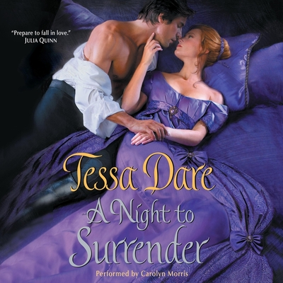 A Night to Surrender Lib/E (Spindle Cove #1) Cover Image