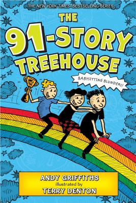 The 91-Story Treehouse: Babysitting Blunders! (The Treehouse Books #7) Cover Image