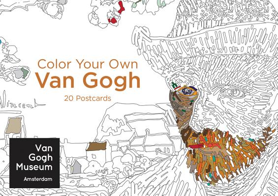 Color Your Own Van Gogh 20 Postcards Cover Image