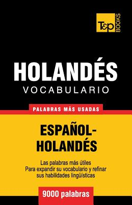 Vocabulario español-holandés - 9000 palabras más usadas Cover Image