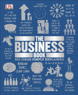 The Business Book: Big Ideas Simply Explained Cover Image