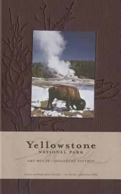 Yellowstone National Park Hardcover Ruled Journal (Insights Journals) Cover Image