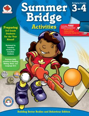 Summer Bridge Activities(r), Grades 3 - 4: Canadian Edition Cover Image