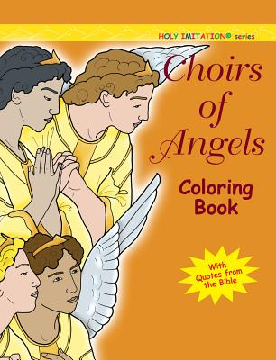 Choir of Angels Coloring Book Cover