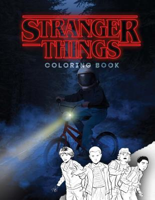 Stranger Things: Coloring Book, Activity Book for Children and Teens Cover Image