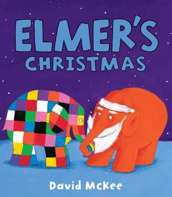 Elmer's Christmas Cover