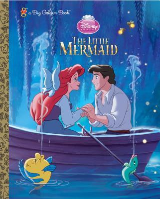 The Little Mermaid Big Golden Book (Disney Princess) Cover Image