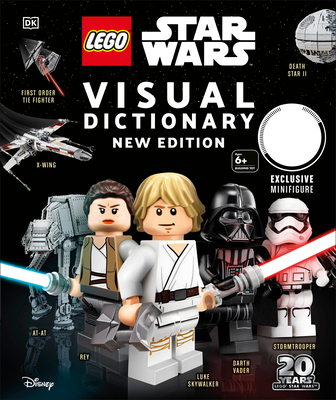 LEGO Star Wars Visual Dictionary, New Edition: With exclusive Finn minifigure Cover Image