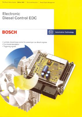 electronic diesel control edc bosch technical instruction