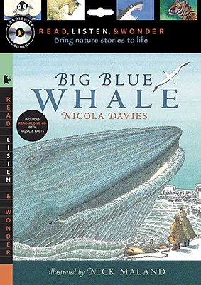 Big Blue Whale with Audio, Peggable: Read, Listen, & Wonder Cover Image
