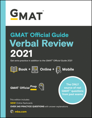 GMAT Official Guide Verbal Review 2021 Cover Image
