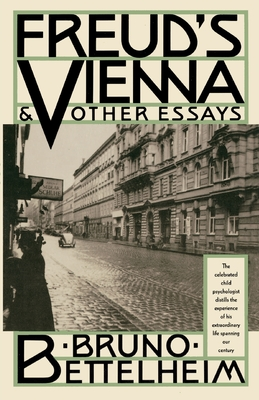 Freud's Vienna and Other Essays Cover