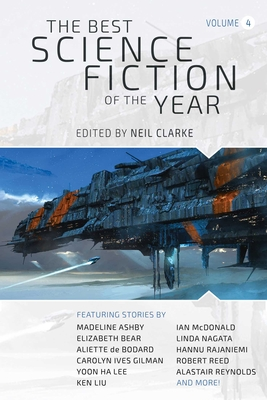 The Best Science Fiction of the Year: Volume Four Cover Image