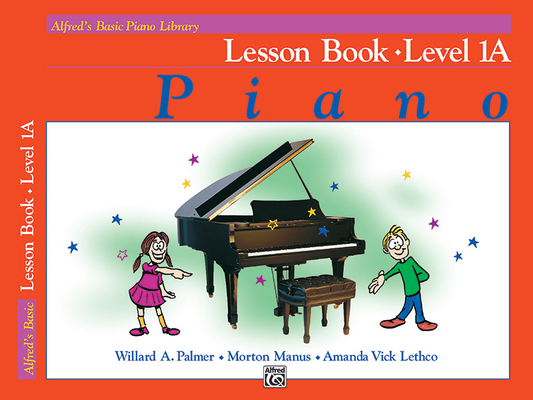 Alfred's Basic Piano Course Lesson Book, Bk 1a Cover Image