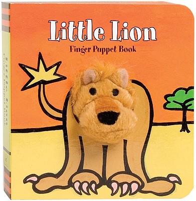 Little Lion: Finger Puppet Book (Little Finger Puppet Board Books) Cover Image