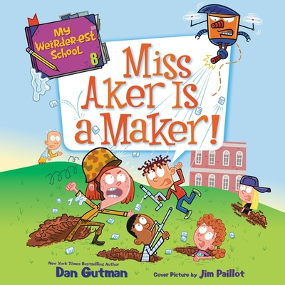 Miss Aker Is a Maker! Cover Image
