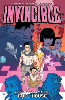 Cover for Invincible Volume 23