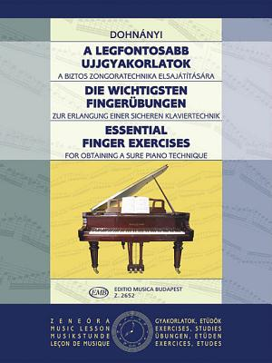 Essential Finger Exercises: Piano Cover Image