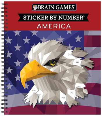 Brain Games - Sticker by Number: America Cover Image