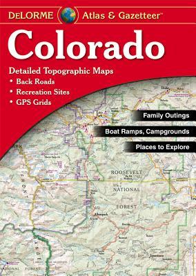 Delorme Colorado Atlas & Gazetteer Cover Image