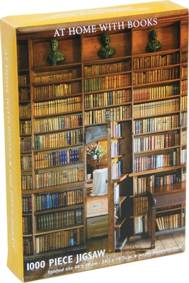 At Home with Books Jigsaw Puzzle Cover Image