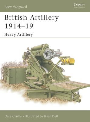 British Artillery 1914 19 Cover