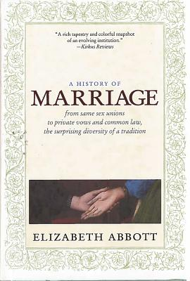 A History of Marriage Cover