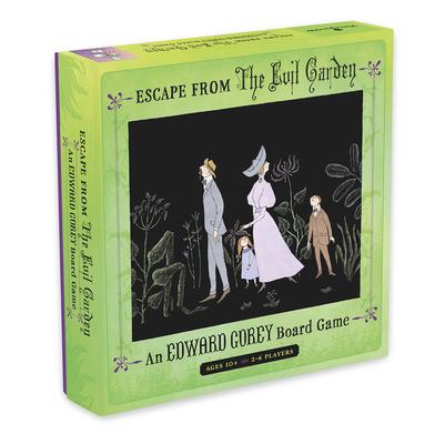 Escape from the Evil Garden: An Edward Gorey Board Game Cover Image