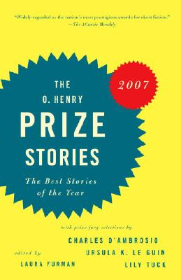 O. Henry Prize Stories 2007 Cover Image