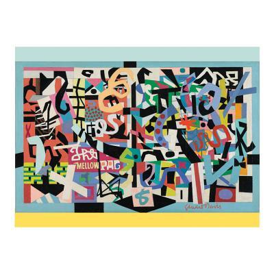 Stuart Davis 1000 Piece Puzzle Cover Image