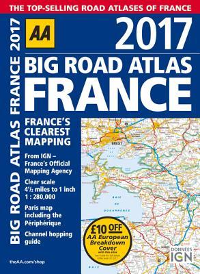 Big Road Atlas France 2017 Cover Image