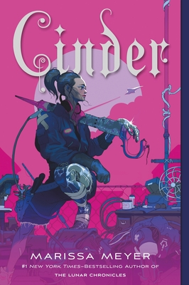 Cinder: Book One of the Lunar Chronicles Cover Image