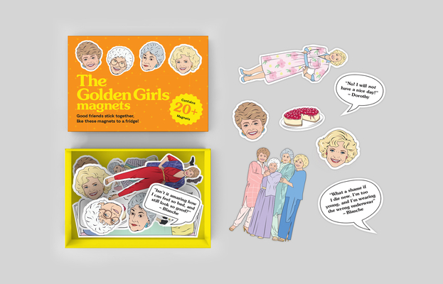The Golden Girls Magnets Cover Image