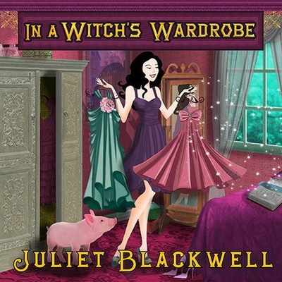 In a Witch's Wardrobe (Witchcraft Mysteries #4) Cover Image