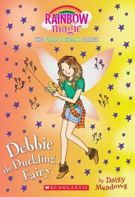 Debbie the Duckling Fairy (The Farm Animal Fairies #1): A Rainbow Magic Book Cover Image