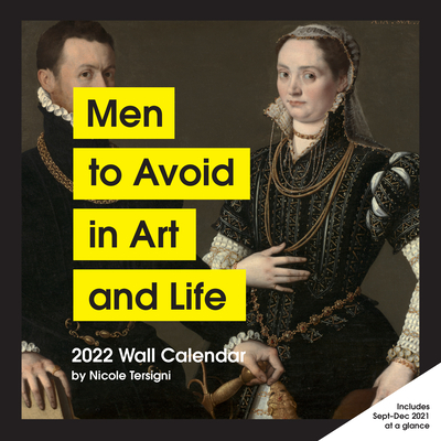Men to Avoid in Art and Life 2022 Wall Calendar Cover Image