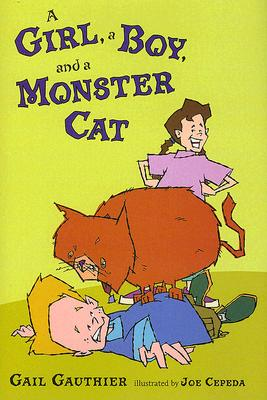 A Girl, a Boy, and a Monster Cat Cover